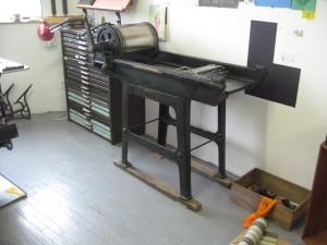 Vandercook proof press