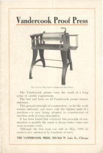 1909 brochure